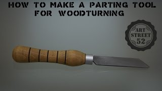 DIY : How to make a Parting Tool  from an old Circular Saw Blade.