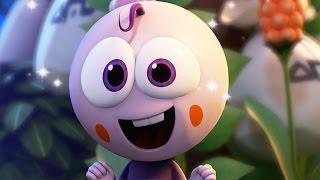 Funny Animated Cartoon | Spookiz Cute Baby Kong Kong Grows Hair 스푸키즈 | Cartoon for Children