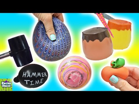 Xxx Mp4 Cutting Open Squishy Toys ALL Homemade Surprise Squishy Pudding Stress Balls Doctor Squish 3gp Sex