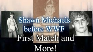 Shawn Michaels Before WWF First Match and More!