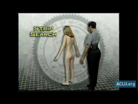 Prison Strip Search is Sexually Abusive