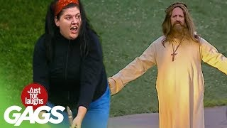Jesus Walks On Water - Just For Laughs Gags