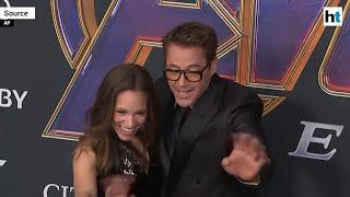 Avengers: Endgame premiere | Robert Downey, Cooper get playful on red carpet