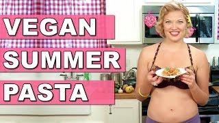Vegan Sizzlin Summer Pasta - A Sexy Pasta Recipe