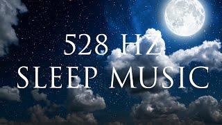 8 Hour Healing Sleep Music ➤ Regenerate Your Cells   Delta Binauralbeats   Solfeggio 528Hz