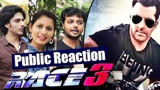 Salman Khan In RACE 3   Public Super Excited - Public Reaction