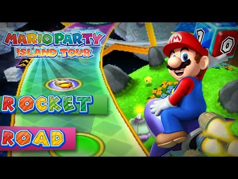 Mario Party Island Tour Rocket Road 4 Player