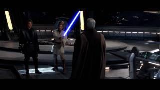 (HD 1080p) Anakin Skywalker & Obi-Wan Kenobi vs. Count Dooku