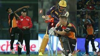 Kolkata ke hariye qualifier a Mustafiz er Sunrisers Hyderabad