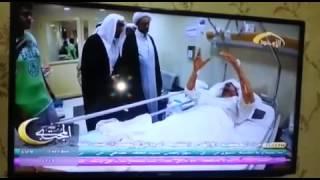 انظروا ماذا شاهد أحد المصابين في انفجار مسجد الإمام الصادق ع بعد الحادثة