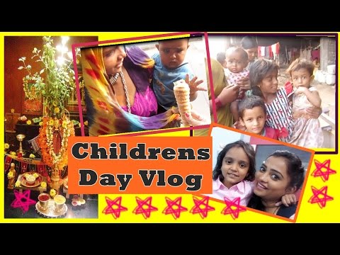 Childrens Day Vlog | Tulsi Vivah at Mom's House | Indian Mom on Duty