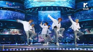 171202 BTS SPRING DAY Performance @ 2017 Melon Music Award