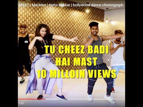 TU CHEEZ BADI HAI MAST | Machine | Neha Kakkar | bollywood dance choreograph
