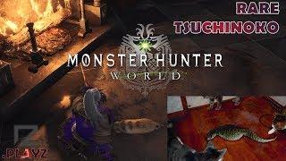 HOW TO CATCH THE TSUCHINOKO PET (Rarity 4, Endemic Life) - Monster Hunter World