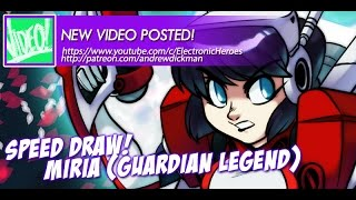 SPEED DRAWING - Miria from Guardian Legend
