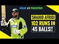 Download Video Download Shahid Afridi 102 off 45 Balls vs India 2005 | EXTENDED HIGHLIGHTS 3GP MP4 FLV