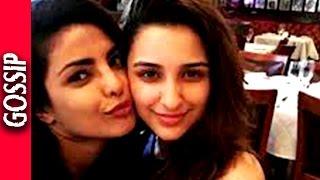 Selfie Of Priyanka And Parineeti Chopra - Shooting for Quantico - Bollywood Gossip 2016