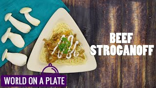 How to make Beef Stroganoff   World on a Plate   Manorama Online Recipe