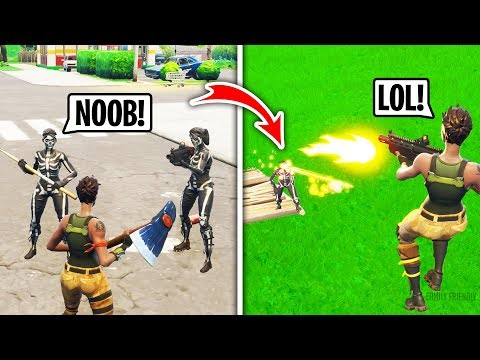 I Got Bullied For Being a Default in Playground Fill Then DESTROYED Them Fortnite