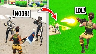 I Got Bullied For Being a Default in Playground Fill, Then DESTROYED Them (Fortnite)