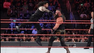 Wwe Roman Reigns vs Braun Strowman Full Match HD - Payback 2017