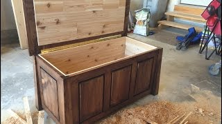 Cedar Lined Hope Chest