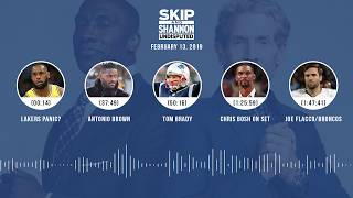 UNDISPUTED Audio Podcast (02.13.19) with Skip Bayless, Shannon Sharpe | UNDISPUTED