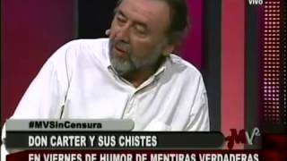 Don Carter y su chiste de