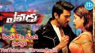 Yevadu Back To Back Video Songs || Ram Charan Teja || Shruti Haasan || Amy Jackson || Kajal Aggarwal