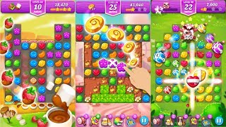 Lollipop & Marshmallow Match3 Android Gameplay