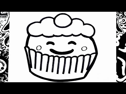 Xxx Mp4 Como Dibujar Un Cupcake Kawaii How To Draw Cupcakes 3gp Sex