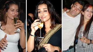 Drunk Celebs After Party !! Bollywood Gossips