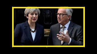 News-as brexit agreement takes shape, juncker met meps