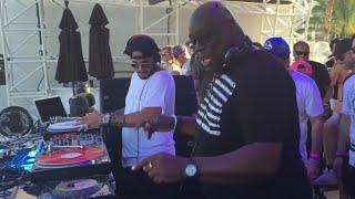 MUM playing Carl Cox b2b Loco Dice Live @Daylight pool party EDC Vegas 2015
