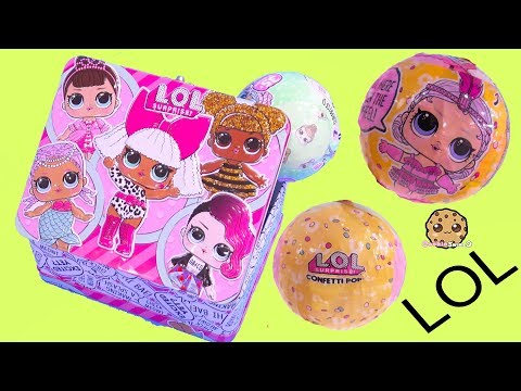 Xxx Mp4 LOL Surprise Box Blind Bag Balls With Color Change Doll Cookie Swirl C 3gp Sex