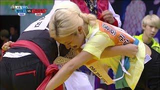 【TVPP】 Bomi(Apink) - Korean wrestling Finals, 에이핑크 - 여자 씨름 결승전 @ 2015 Idol Star Championships