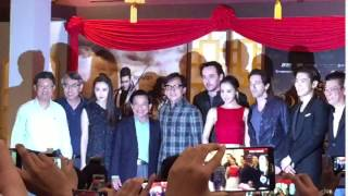 Jackie Chan with IOI City Mall Management and GSC in Putrajaya Malaysia