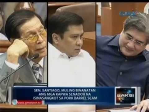Xxx Mp4 Saksi Sen Santiago Muling Binanatan Ang Mga Kapwa Senador Na Isinasangkot Sa Pork Barrel Scam 3gp Sex