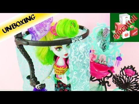 Monster High il bagno di Lagoona Blue