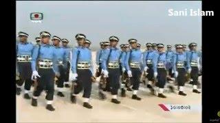 Bangladesh Air Force Academy BAFA winter graduation parade 2015
