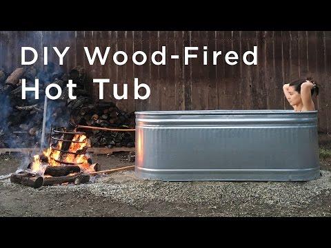Xxx Mp4 DIY Wood Fired Hot Tub 3gp Sex