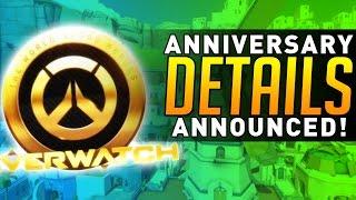 Overwatch - Anniversary DETAILS ANNOUNCED!
