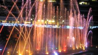 鬼怒川温泉ホテル三日月ウォーターイルミネーションショー