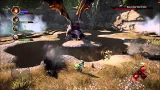 Dragon Age Inquisition Gamoran Stormrider Dragon Kill As a Reaver Warrior