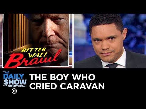 Shutdown Day 20 Trump Heads to the Border The Daily Show