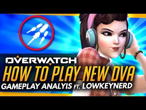 Overwatch   How To DOMINATE With New Dva! - T500 Gameplay Coaching