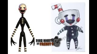 Fnaf characters as Games Characters