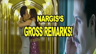 Nargis Fakri's Pubic Hair Comment| Emraan Hashmi| Prachi Desai| Nargis Fakri