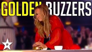 Judges GOLDEN BUZZERS   Amanda Holden's Top Moments On Britain's Got Talent!   Got Talent Global