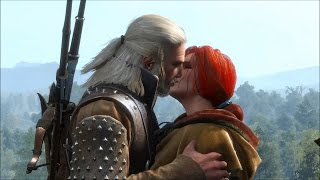 Witcher 3 Full Triss Merigold Romance (All Scenes, Pre-Patch)